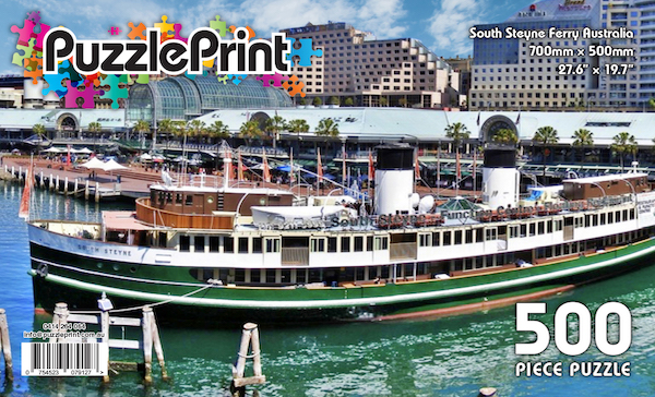 Manly Ferry at Darling Harbour Sydney Jigsaw Puzzle